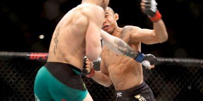 McGregor derrotó a José Aldo con impresionante nocaut en sólo 13 segundos. Foto:Getty Images