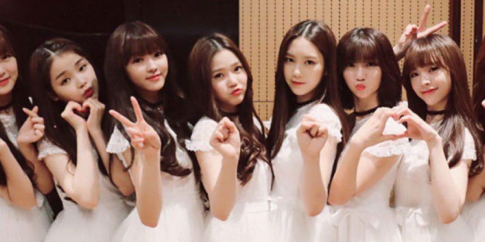 """Se llaman """"Oh My Girl"""". Vienen de Corea del Sur. Foto:vía Twitter/Oh My Girl"""