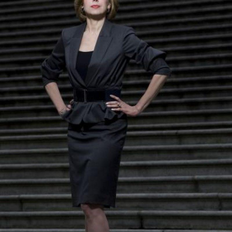 """Christine Baranski tiene 63 años y sigue siendo popular por """"The Big Bang Theory"""" y """"The Good Wife"""". Foto:vía Getty Images"""