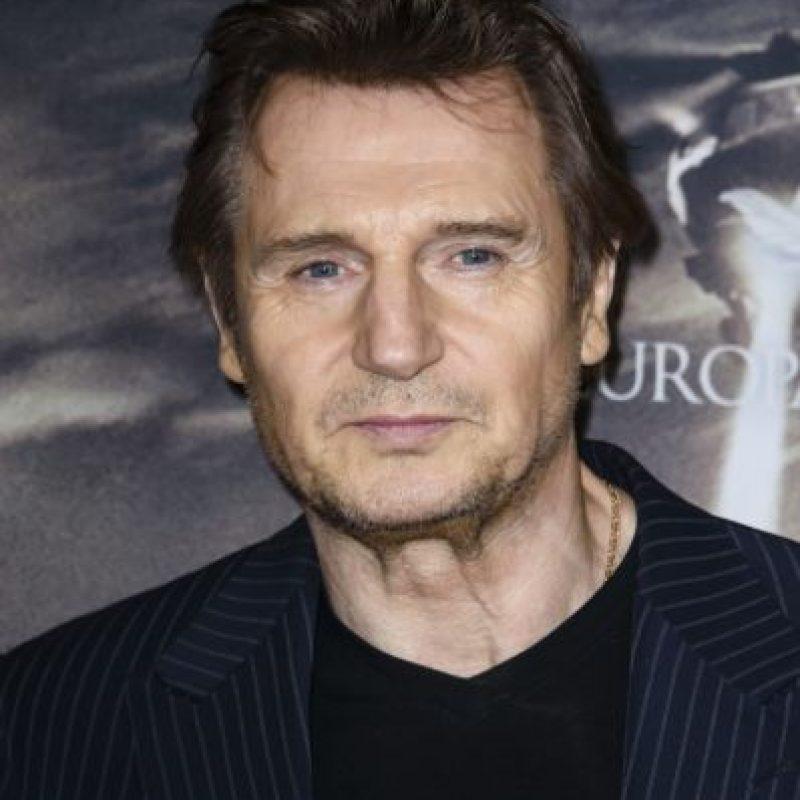 Liam Neeson sigue participando en películas de acción y se ve así a sus 63 años. Foto:vía Getty Images