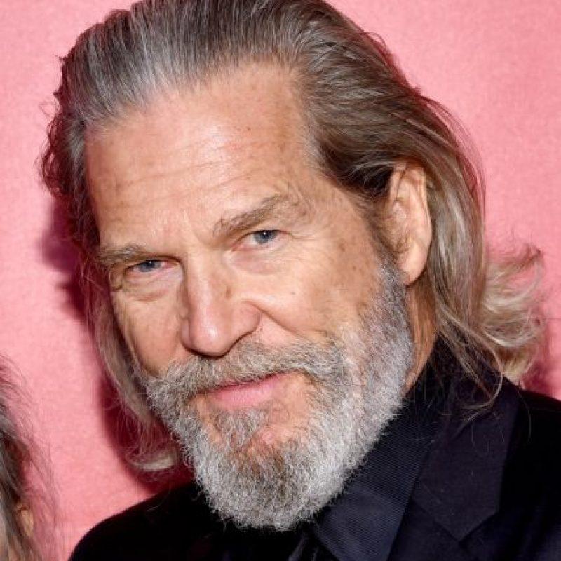 Jeff Bridges se ve así a sus 67 años. Foto:vía Getty Images