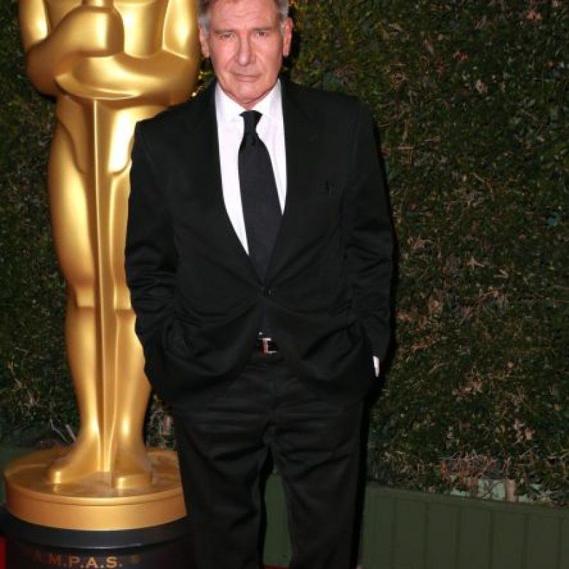 """Harrison Ford volvió con """"Star Wars"""" y se ve así a sus 73 años. Foto:vía Getty Images"""