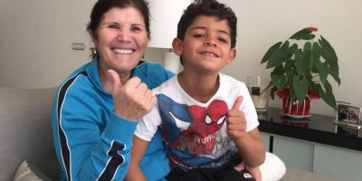 El padre de Dolores Aveiro, y abuelo del futbolista, falleció este 12 de diciembre. Foto:Vía instagram.com/doloresaveirooficial