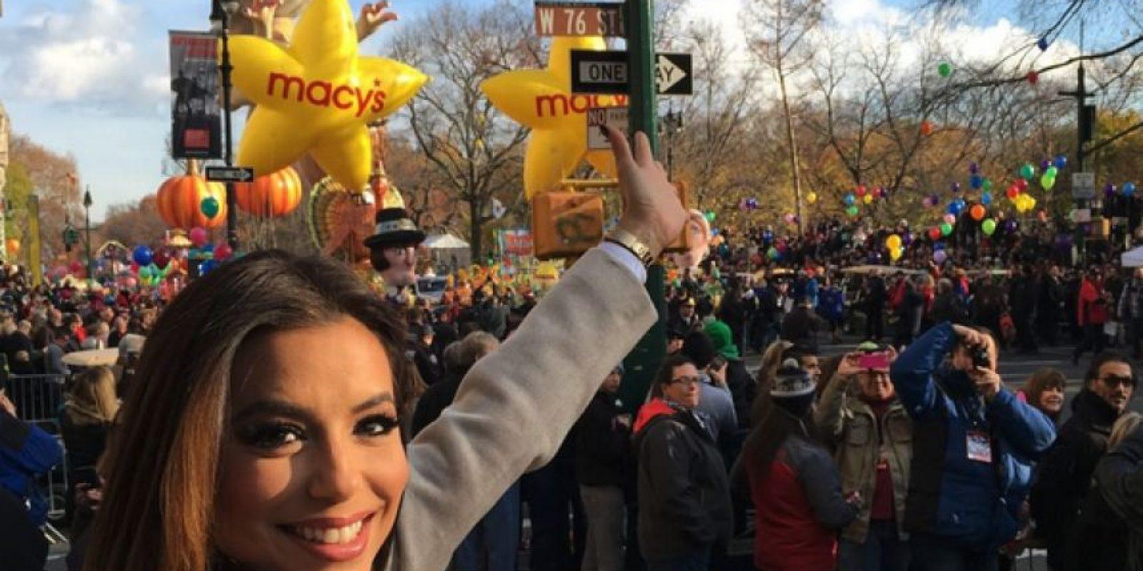 Tiene ascendencia mexicana. Foto:Vía Instagram.com/evalongoria