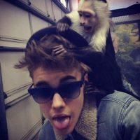 Abandonó a su mono. Foto:vía Instagram/JustinBieber