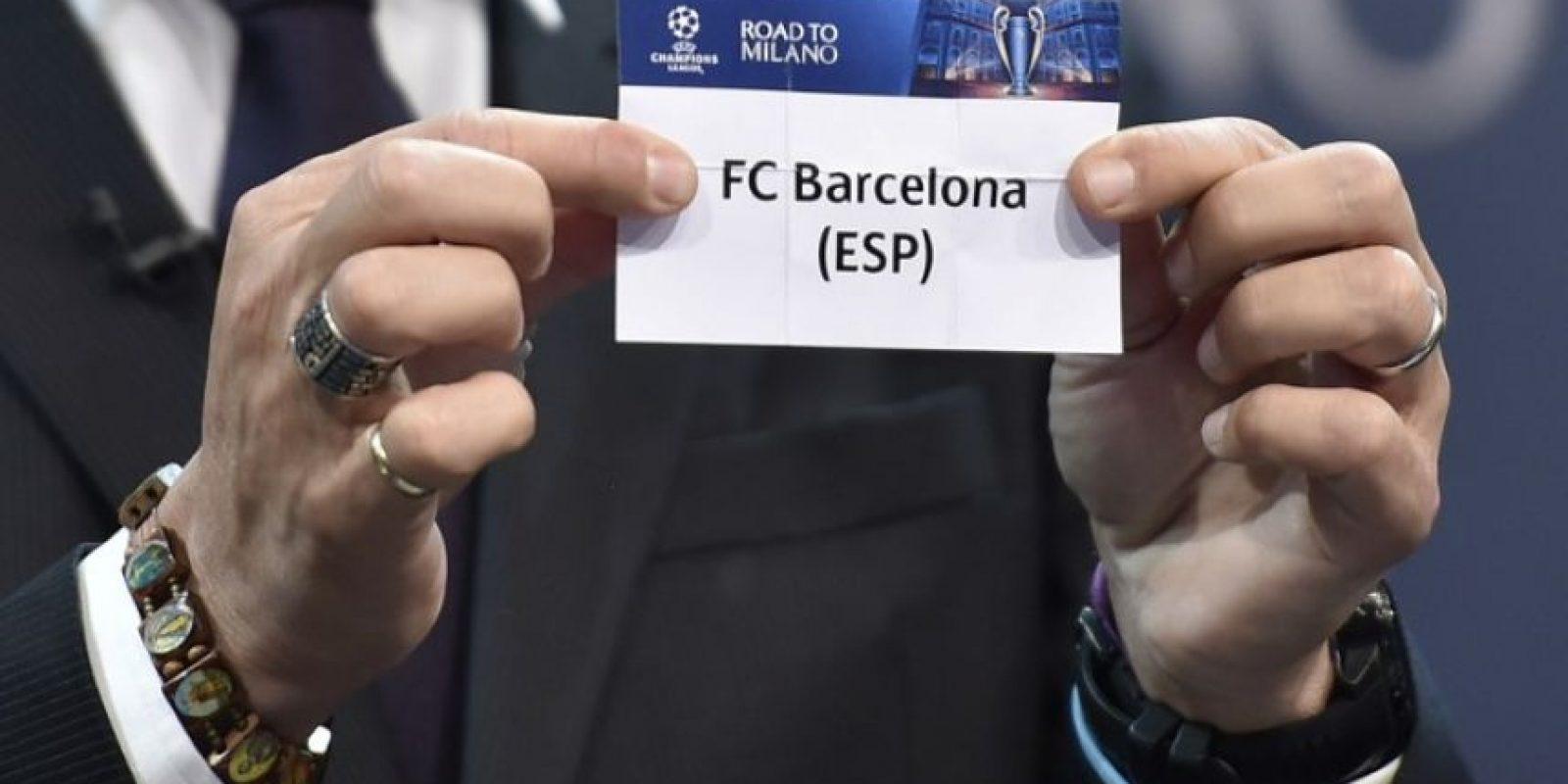 Barcelona, el equipo defensor del título se enfrentará al Arsenal, mientras que el Real Madrid se medirá frente a la Roma. Foto:AFP