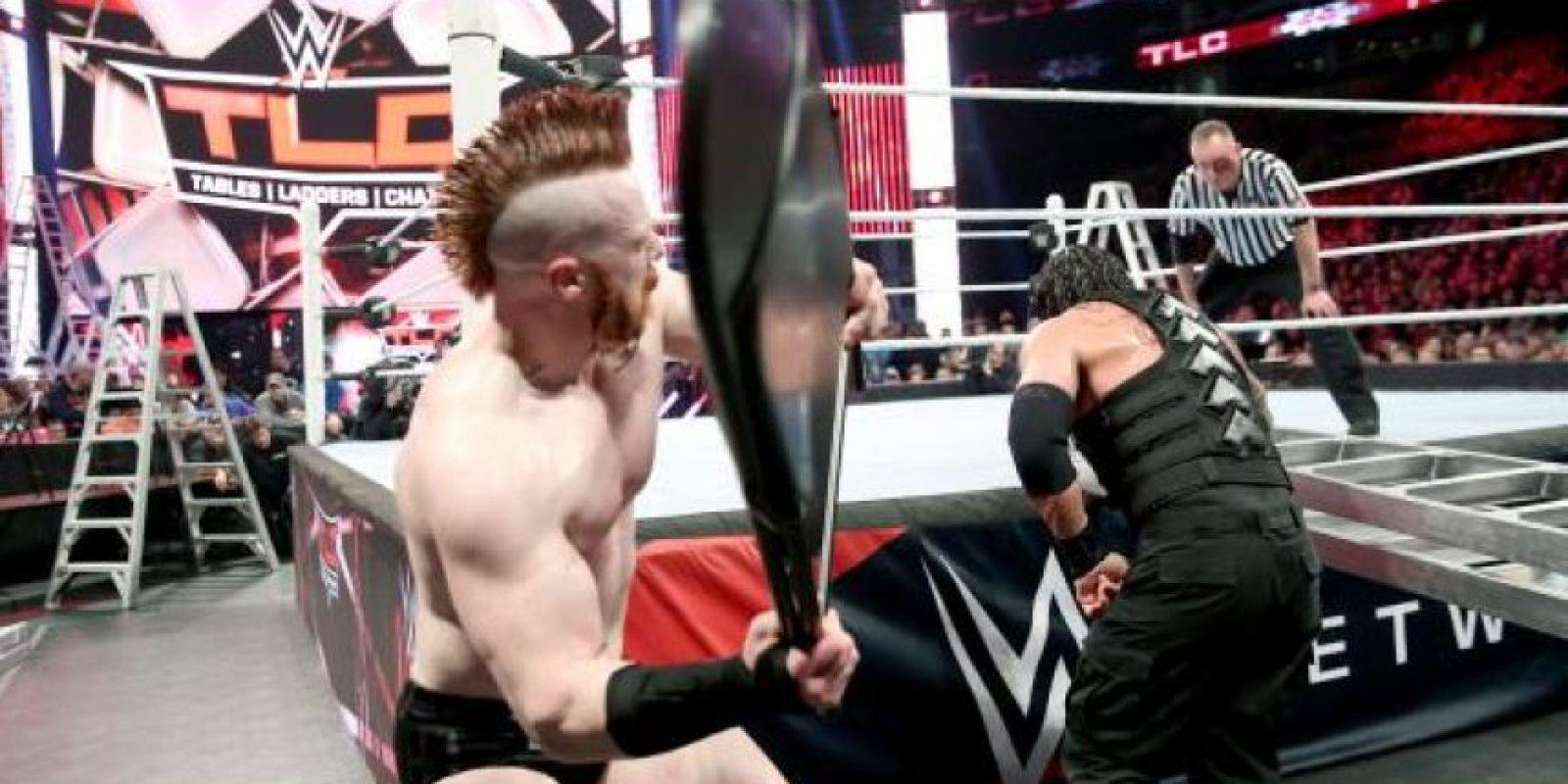 Sheamus venció a Roman Reigns y retuvo el Campeonato Mundial de Peso Pesado de la WWE Foto:WWE
