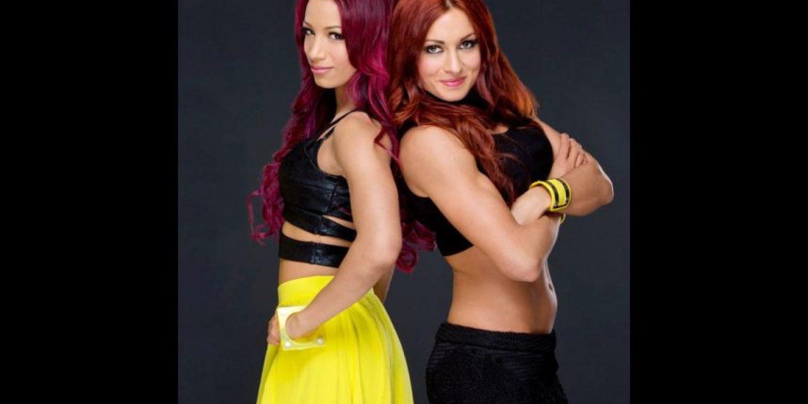 Becky Lynch y Sasha Banks se vieron las caras en TLC. Foto:WWE