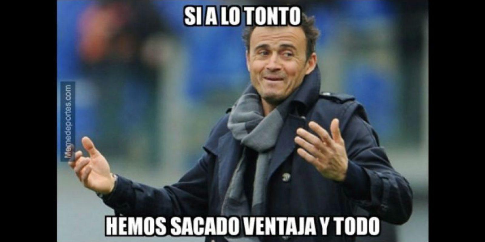 ¿Así reaccionaron en Barcelona? Foto:memedeportes.com
