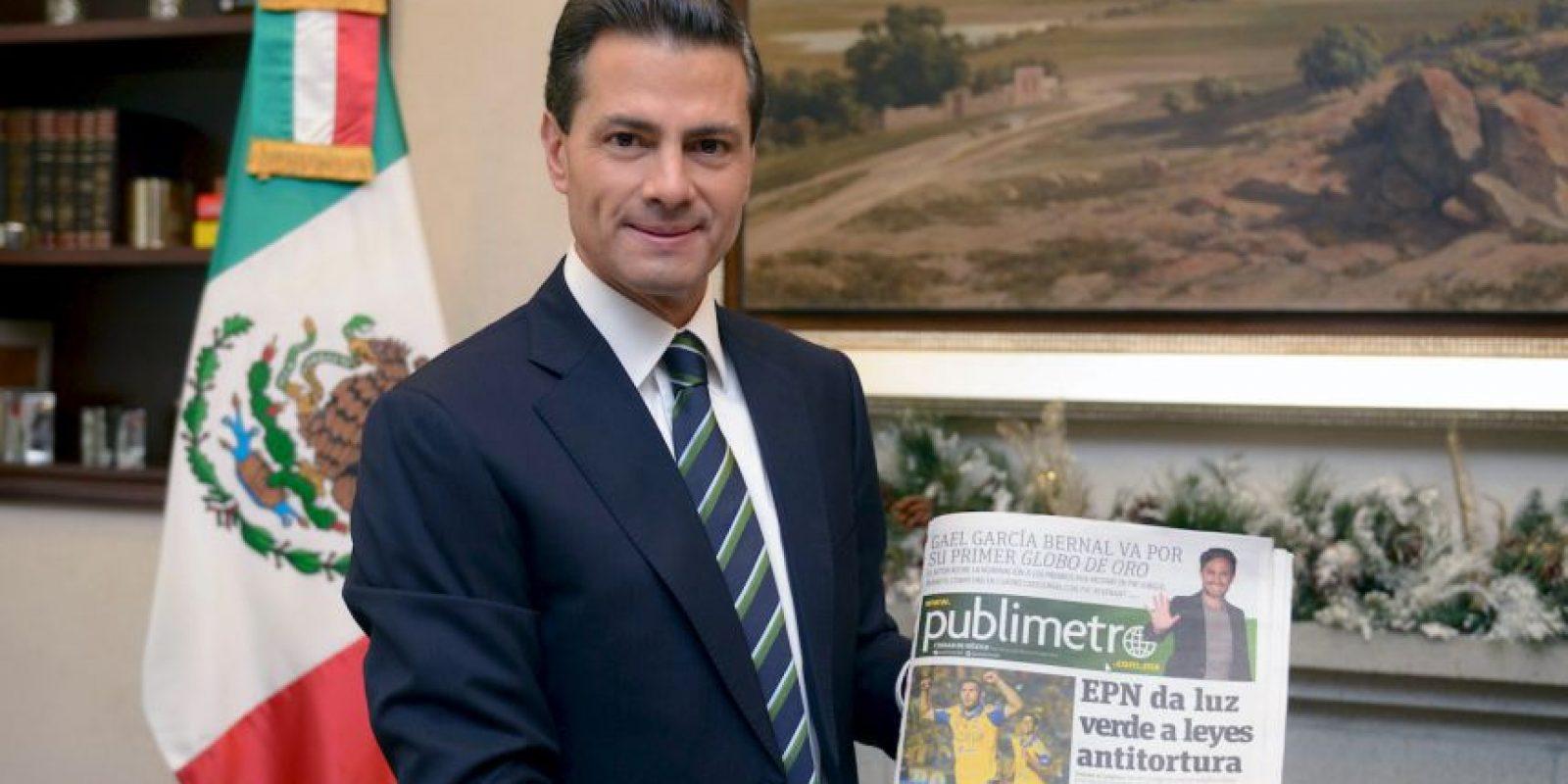 Enrique Peña Nieto: México, motor de América Latina Foto:Nicolás Corte / Publimetro México