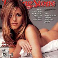 Con su fama, Aniston también se convirtió en una de las actrices más codiciadas de Hollywood. Foto:Rolling Stones