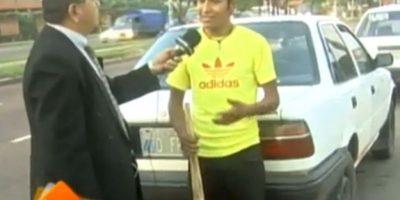 Una vez que salió en cadena nacional, las autoridades llevaron detenido al acusado Foto:UNITEL