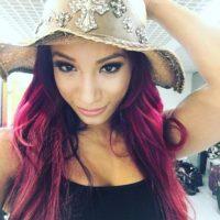 Debutó en el roster principal de la WWE en 2015 y formó equipo con Naomi y Tamina para formar el grupo B. A. D. Foto:Vía instagram.com/sashabankswwe