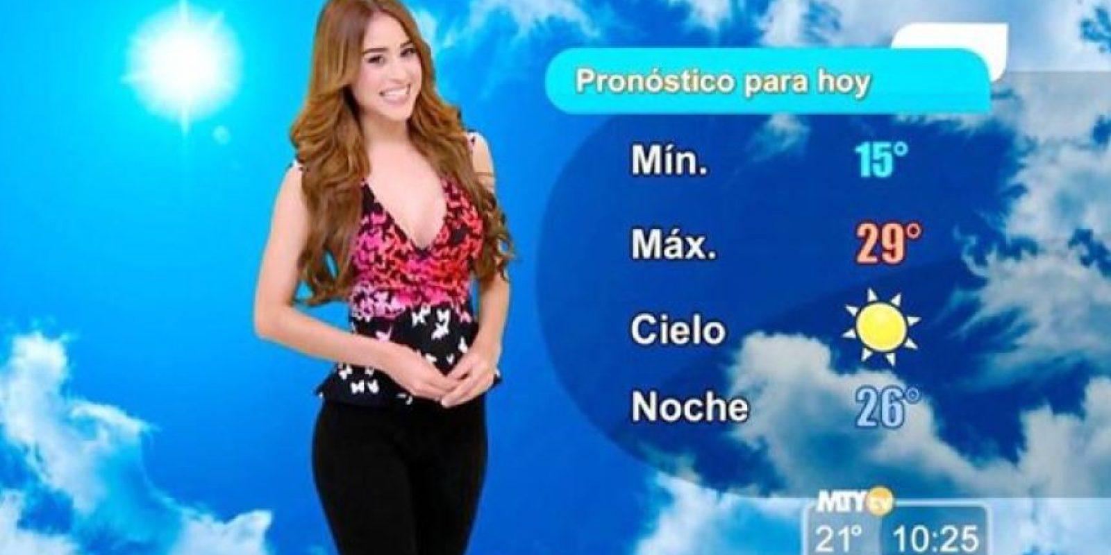 Tras su salto a la fama, la joven de 24 años comenzó a lucir cada vez más provocativa Foto:vía facebook.com/yanetgarciapaginaoficial