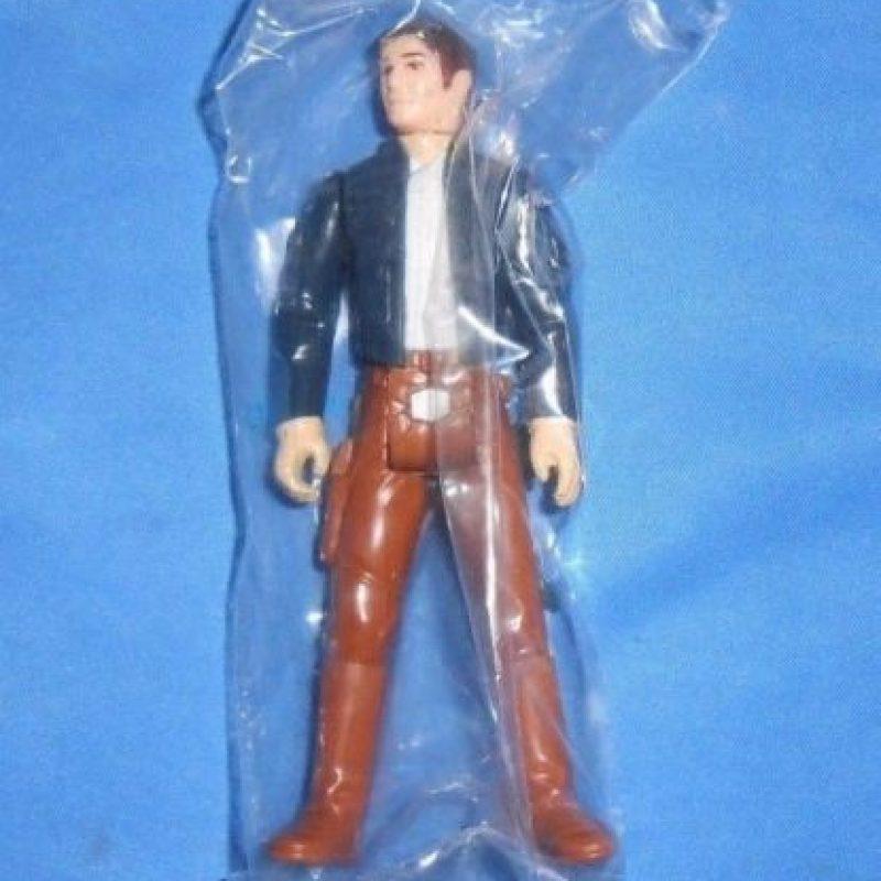 4- HAN SOLO DE 1984 NUNCA ABIERTO DE SU BOLSA. Foto:vía ebay.com