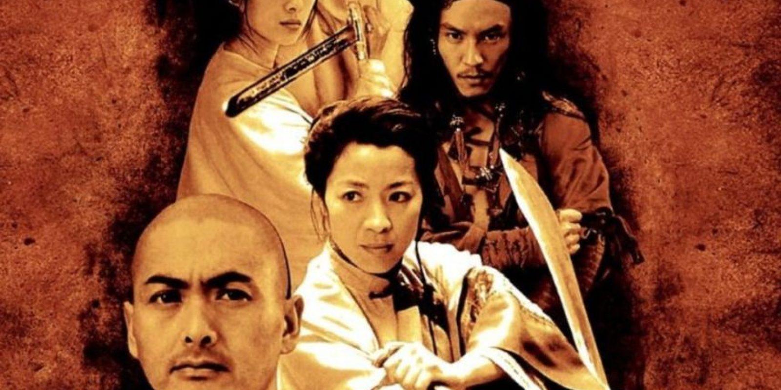 """5- """"El Tigre y el dragón"""" está basada en Tigre agazapado, dragón escondido, la cuarta novela de la llamada Pentalogía de Hierro, escrita por Wang Dulu. Ganó cuatro premios, entre ellos el Óscar a la mejor película extranjera en el año 2000. Foto:Columbia Pictures"""