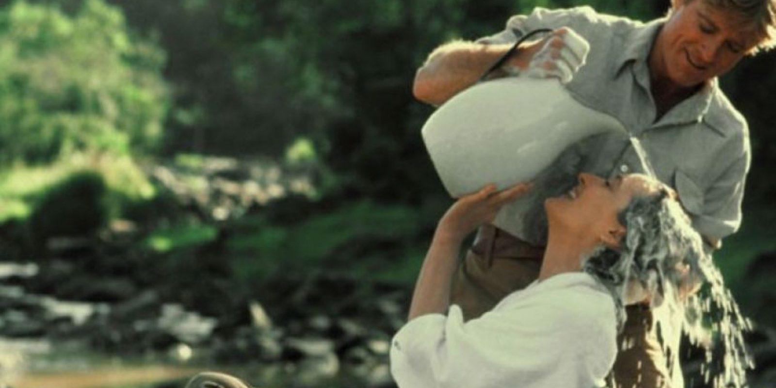 """13- """"Africa mía"""" es una cinta estadounidense de 1985 que obtuvo siete Premios Óscar, incluyendo el de mejor película, mejor dirección y mejor guión adaptado. Foto:Universal Pictures"""