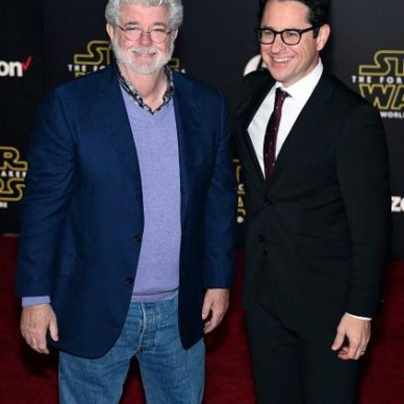 George Lucas, J.J. Abrams Foto:Getty Images