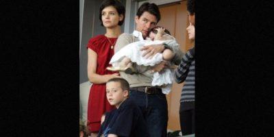 La exesposa de Tom Cruise hizo la confesión tras el nacimiento de Suri Foto:Getty Images