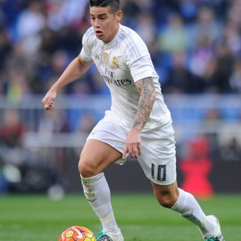 James Rodríguez (Colombia, Real Madrid) Foto:Getty Images