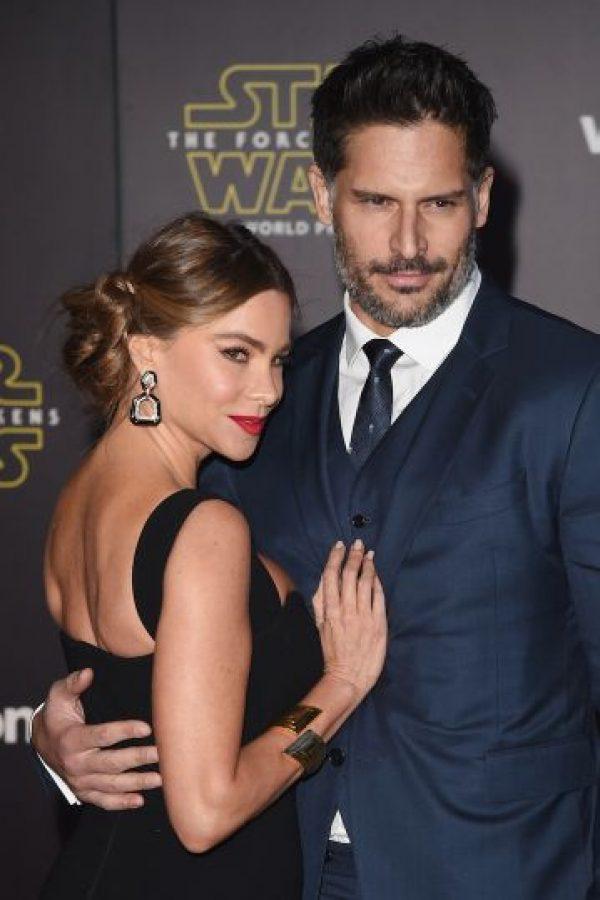 Sofía Vergra estuvo acompañada por su esposo, Joe Manganiello. Foto:Getty Images