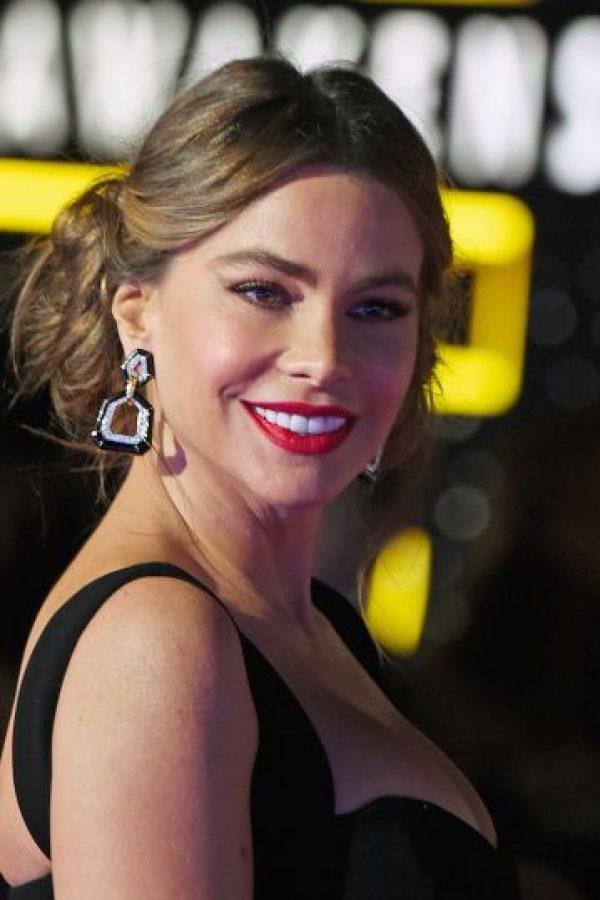 """La actriz de 43 años lució un peinado como el de la """"princesa Leia"""", una de las protagonistas de """"Star Wars"""" Foto:Getty Images"""