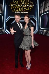 Chris Hardwick, Lydia Hearst Foto:Getty Images