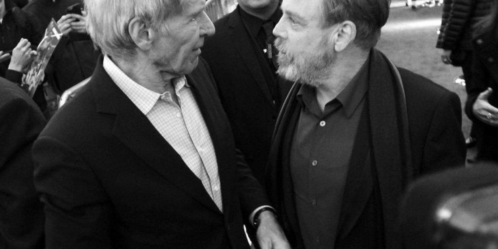 Harrison Ford y Mark Hamill Foto:Getty Images