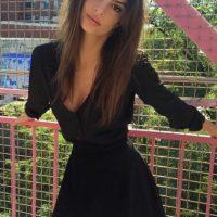 """Después de aparecer en el video """"Blurred Lines"""", de Robin Thicke, la fama de Emily se multiplicó Foto:Vía instagram.com/emrata"""