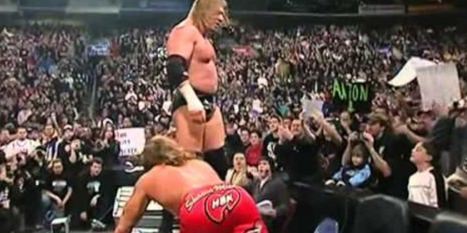 Shawn Michaels vs Triple H en Royal Rumble 2004 Foto: WWE