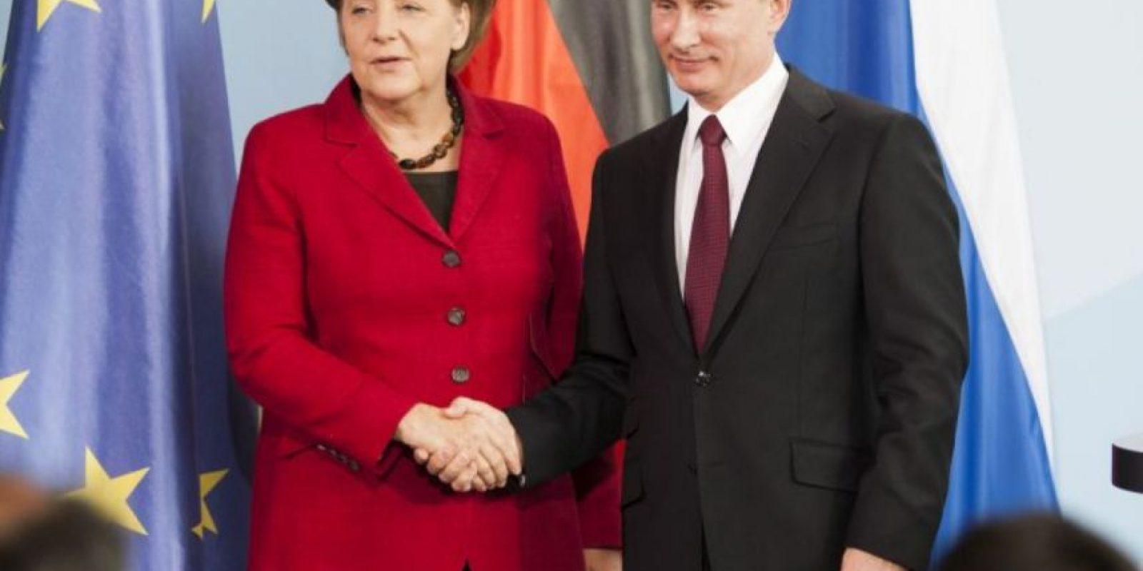 La diplomacia que ayudó a generar una respuesta de Europa respecto al conflicto entre Rusia y Ucrania Foto:AFP