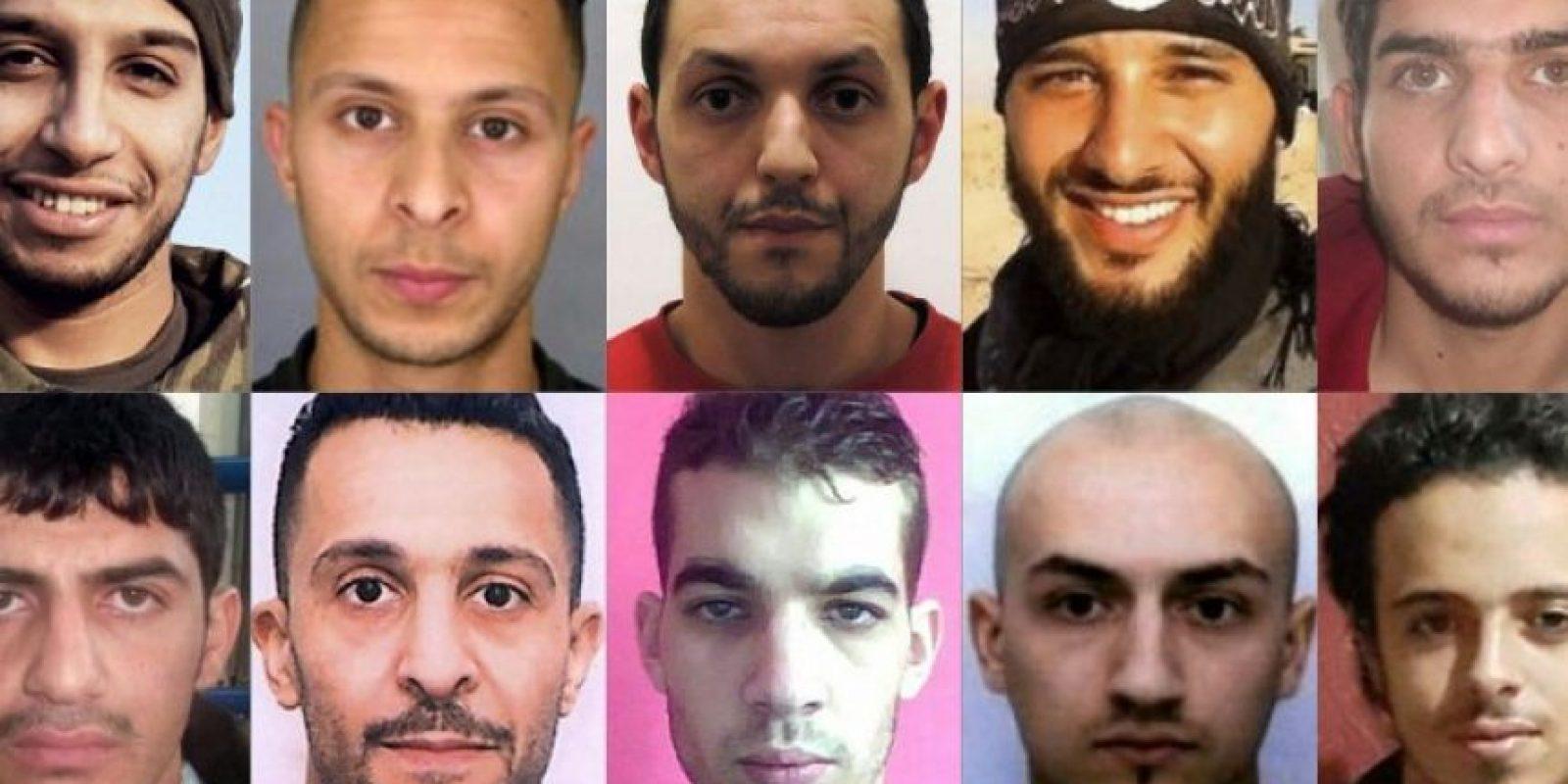 Salah Abdeslam es uno de los 12 terroristas buscados por los atentados del 13-N de París Foto:AFP