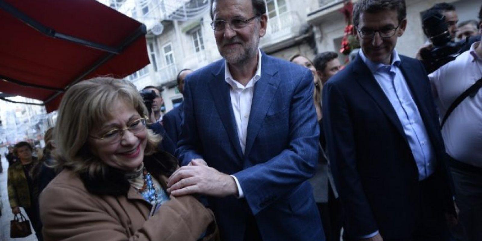 Rajoy es miembro del Partido Popular español. Foto:AFP
