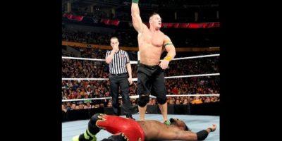 Cena tiene 38 años Foto:WWE