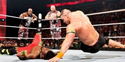 John Cena es uno de los referentes de la WWE Foto:WWE