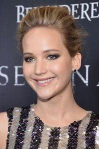 Jennifer Lawrence con maquillaje Foto:Getty Images