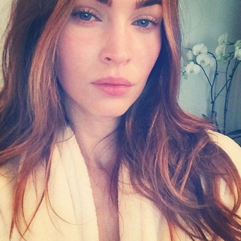Megan Fox sin maquillaje Foto:vía instagram.com/the_native_tiger