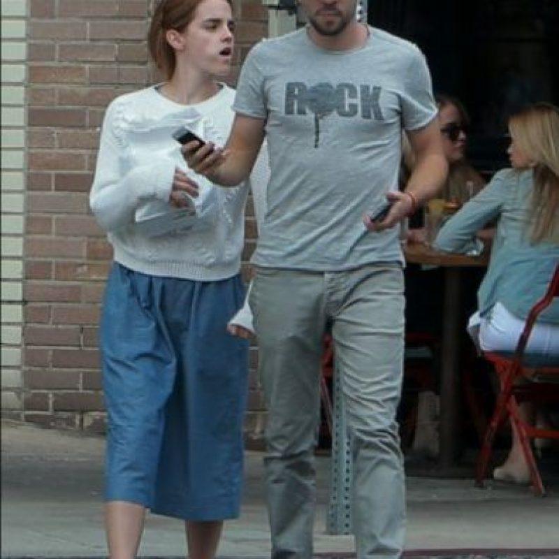 Emma Watson sin maquillaje Foto:The Grosby Group