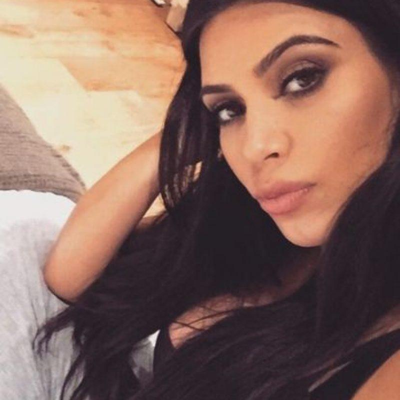 11 días después de dar a luz a Saint West, reveló en su sitio web que ya había perdido 27 kilos (59 libras) Foto:Instagram/kimkardashian