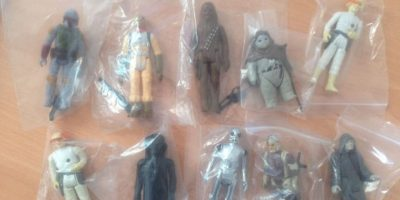 Se trata de una colección de 62 figuras antiguas en perfectas condiciones. Foto:vía ebay.com