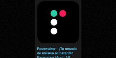 """11- """"Pacemaker – ¡Tu mezcla de música al instante!"""". Es gratuita y elimina el esfuerzo de mezclar música añadiendo un toque de magia. Solo tienen que seleccionar su música desde iTunes o Spotify, pulsar reproducir y a divertirse. Foto:Apple"""