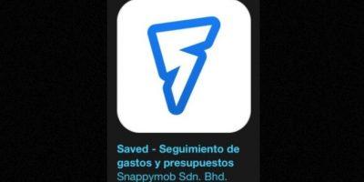 """22- """"Saved"""". Es gratis. Descubran su panorama financiero con esta aplicación que les muestra a dónde va su dinero para que puedan administrar mejor los gastos. Foto:Apple"""