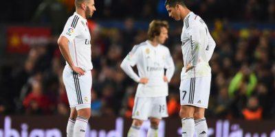 """5. Perdieron el primer """"Clásico"""" del año ante Barcelona por marcador 2-1. Foto:Getty Images"""