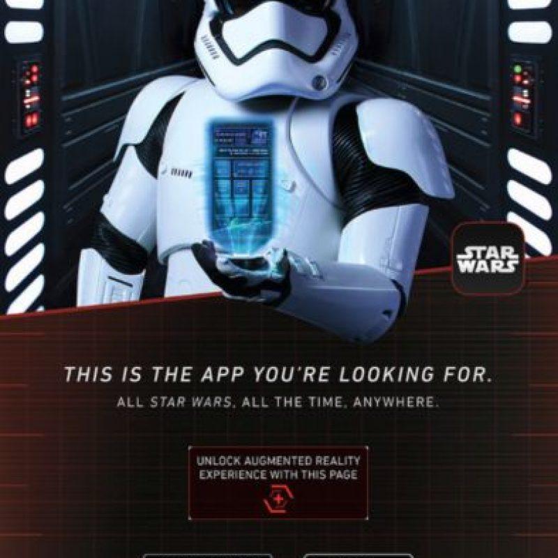 El poster oficial de la app. Foto:Disney