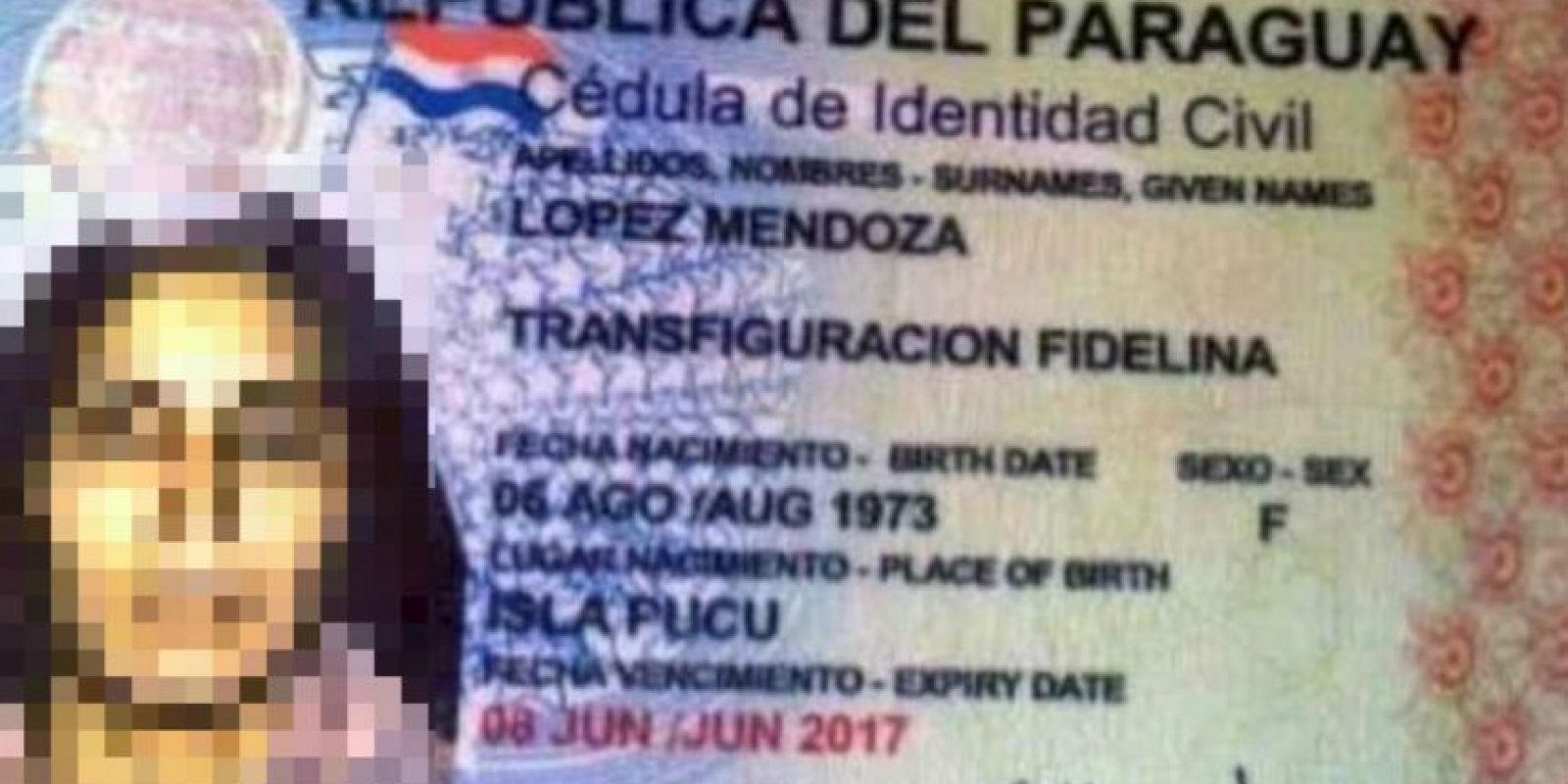 Nombres reales que parecen un broma: Transfiguracion Fidelina Foto:Recreoviral