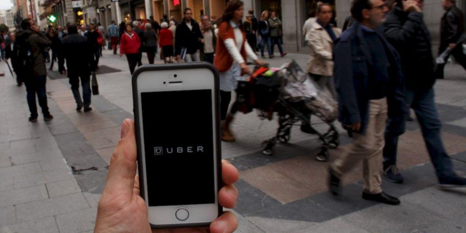 """8- Describir la situación y dar clic en """"Enviar"""". Foto:Uber"""