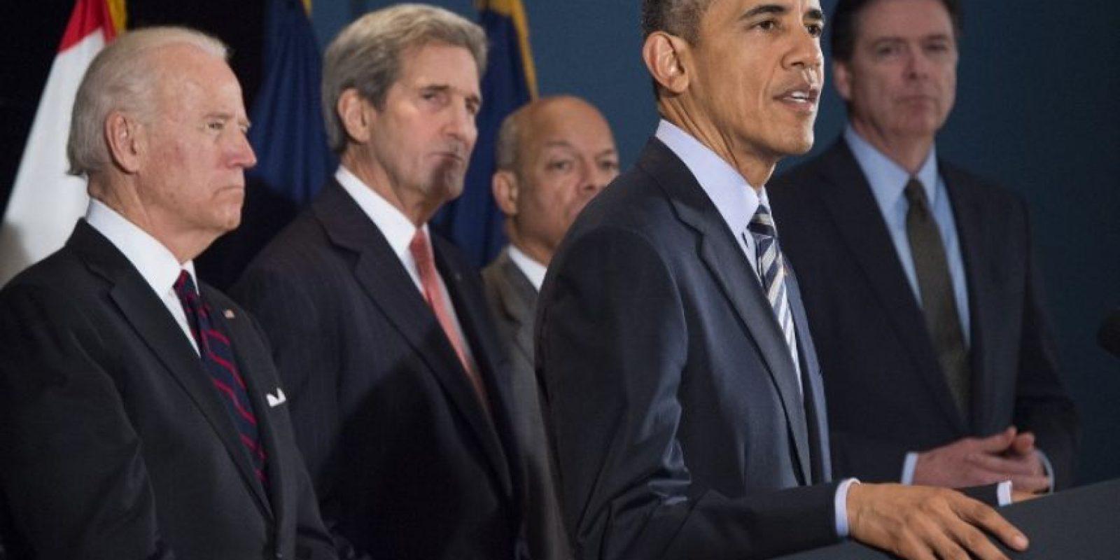 Aseguró que, desde los atentados del 9/11, el Gobierno reforzó las medidas para luchar contra los terroristas. Foto:AFP