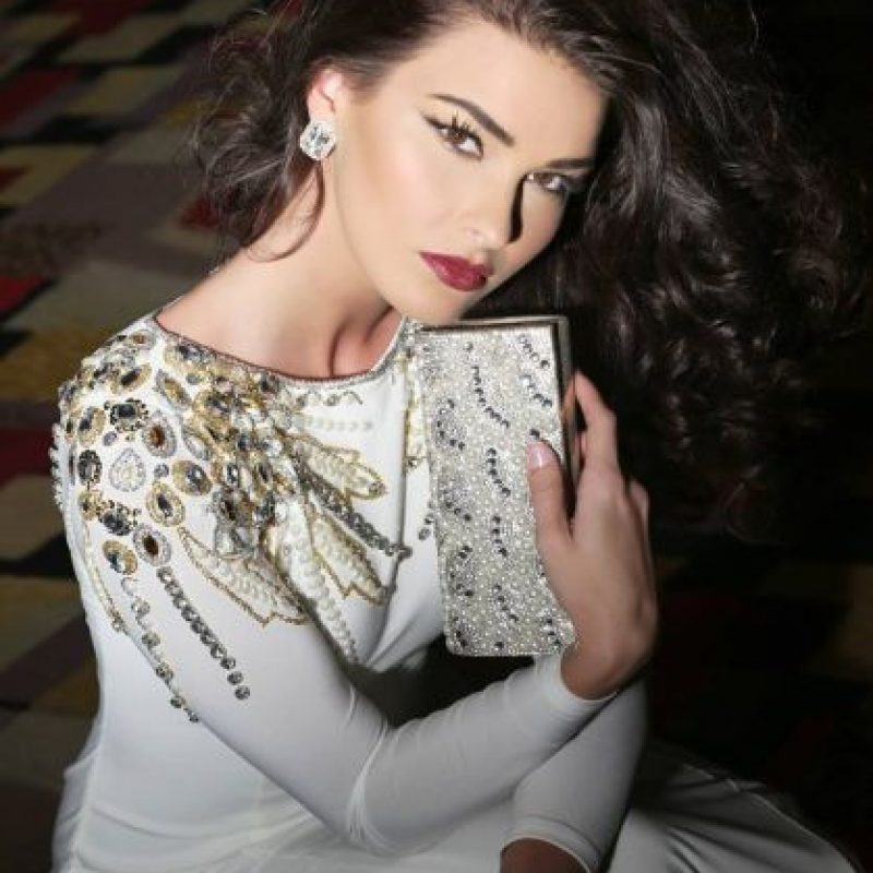 Nikol Švantnerová es Miss República Checa Foto:vía facebook.com/MissUniverse