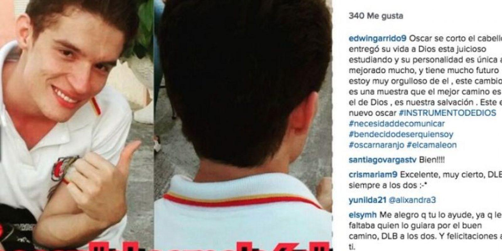 Foto:Instagram Edwin Garrido