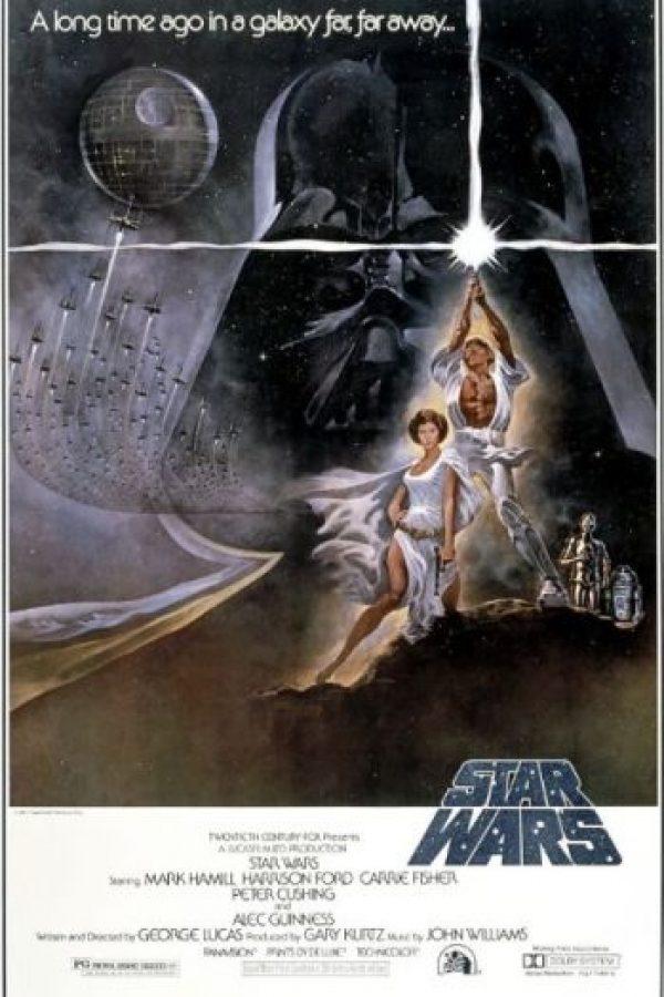 """""""Star Wars Episodio IV: Una nueva esperanza"""" fue la primera película de la franquicia"""". Sin embargo, la historia comienza con el """"Episodio I"""" Foto:IMDb"""
